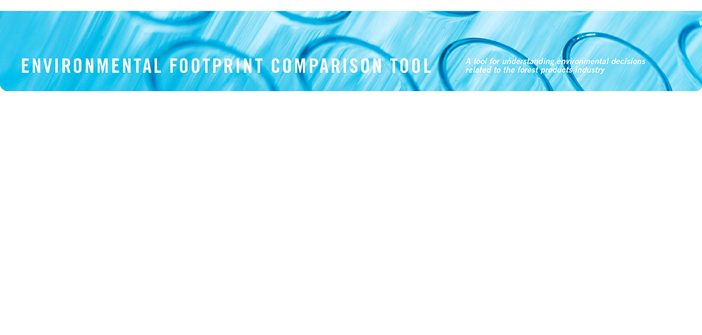 EFCT: Environmental Footprint Comparison Tool.  A tool for understanding environmental decisions related to the forest products industry.  Chlorinated Compounds.