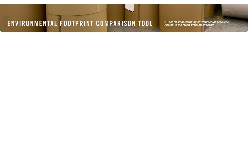 EFCT: Environmental Footprint Comparison Tool.  A tool for understanding environmental decisions related to the forest products industry.  Recycled Fiber.